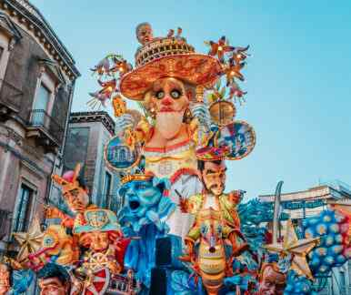 Karneval auf Sizilien