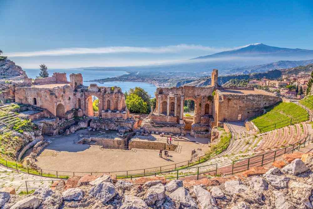 Theatro Greco in Taormina